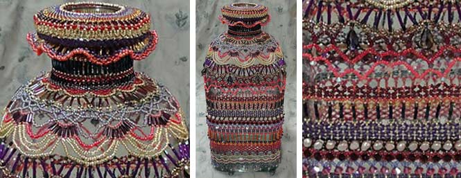 Byzantium Beaded Bottle