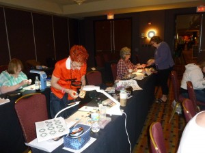 My Eclectica Class at the Bead & Button Show 2012
