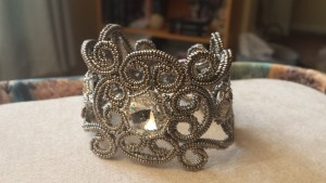 Beatrice Cuff made by Helen Cordell