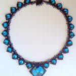 Isabella Necklace - Bermuda Blue