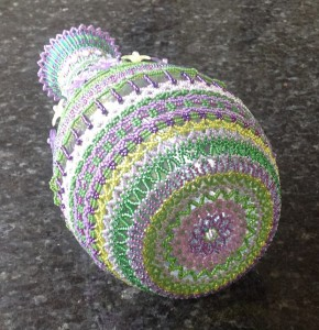 Sharon's Beaded Bottle