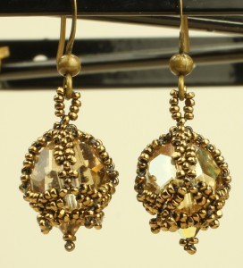 Victoria Earrings by Melanie de Miguel