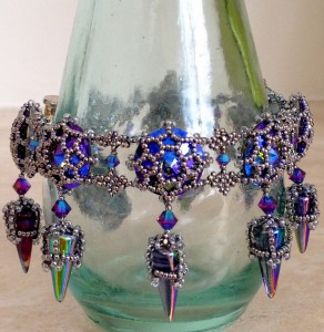 Tatiana Bracelet - Glacier Blue and Silver