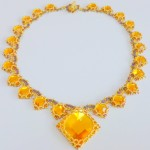 Isabella Necklace - Topaz