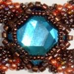 Lorenzo de Medici Bracelet in Indicolite with Copper and Bronze