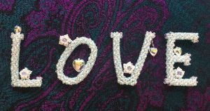 Beaded Love Letters