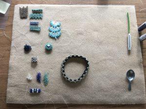 Hubble stitch samples