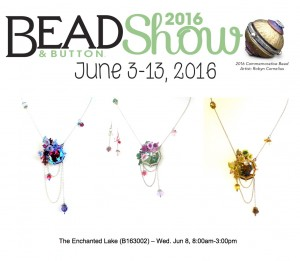 The Enchanted Lake class at the Bead & Button Show 2016