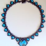 Isabella Necklace - Bermuda Blue