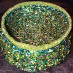 big green basket