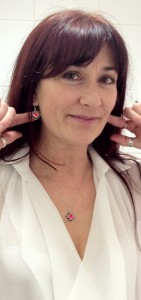 Luisa Earrings and Pendant