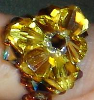 Crystal Finger Candy Golden