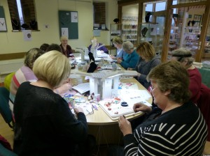 Morgan Le Fay Workshop at Stitchncraft