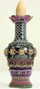 Aladdin Beaded Bottle by Melanie de Miguel