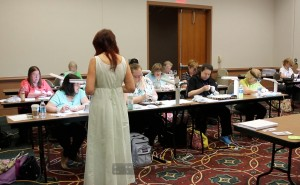One of my classes at the Bead & Button Show
