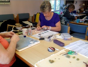 Byzantine Cross Workshop with the Abbey Road Beaders in Nottingham