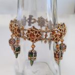 Tatiana Bracelet - Crystal Copper and Gold