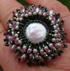 Kiku Pearl Ring