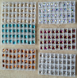 Swarovski Space Cut Crystals