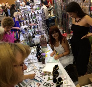 Let's Hubble book launch at the Great British Bead Show