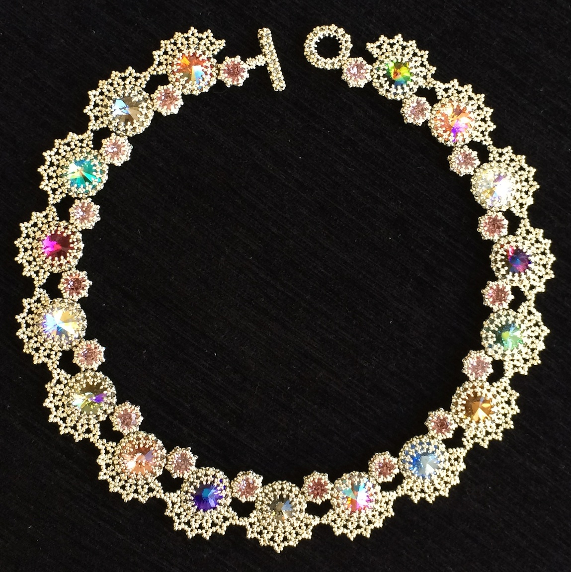 Lyra's Jewels - made entirely in Hubble Stitch