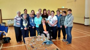 Heqet Pendant workshop with the Northern Ireland Beaders Guild