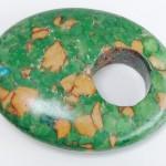 Stone donut for Gorgeous Giorgio the Fish