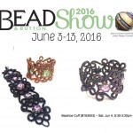 Beatrice Cuff class at the Bead & Button Show 2016